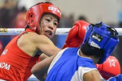 Boxing Tokyo Olympic Qualifiers Mary Kom Beats Nikhat Zareen In Trials Advances For Qualifiers