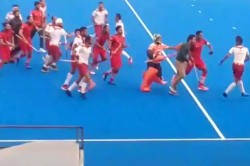 Nehru Cup Football 2019 Final Fight Hockey India Suspends 11 Players