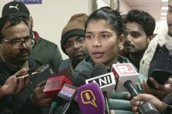 Nikhat Zareen Accuses Mary Kom After Match Say Shouldn T Have Done That