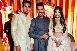 Year Old Indian Cricketer Rahul Chahar Engaged To His Girlfriend See Photos