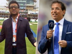 Harsha Bhogle Sanjay Manjrekar On Air Spat At Eden Gardens First Day Night Test Manjrekar Regrets