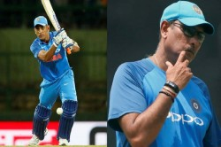 Ms Dhoni S Entry Cannot Be Done Before Ipl Know What Ravi Shastri Said