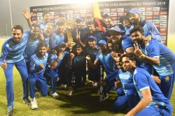 Karnataka Won The Title Of Syed Mushtaq Ali Trophy 2019 After Beat Tamil Nadu