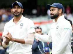 Icc Test Rankings Virat Kohli Remains On Top Spot Jasprit Bumrah Registers Fall Pat Cummins