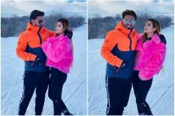 Rishabh Pant Enjoying New Year Vacation With Girlfriend Isha Negi See Pictures