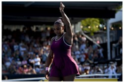 Serena Williams Wins Auckland Classic And Donates Her Winners Cheque To Australia Fire Victims