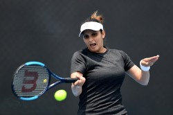 After 2 Years Sania Mirza Make Comeback With Win In Opening Round In Women Doubles