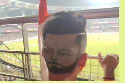 Ind Vs Aus Heart To Head Virat Kohli S Fan Hairstyle Goes Viral During Series Opener Match