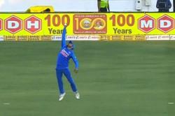 Ind Vs Aus Manish Pandey Took A Stunning Catch Of David Warner Watch Video