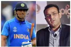 Virender Sehwag Backs And Explain Reasons Behind Ms Dhoni Out Of Bcci Contract