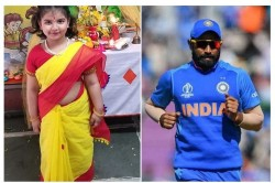 Ind Vs Nz Mohammed Shami Shares Cute Picture Of His Daughter In Saree