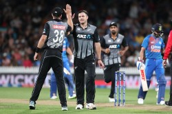 Ind Vs Nz Mitchell Santner Took A Stunning Catch To End Virat Kohli In Early Watch