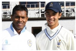 Tagenarine Chanderpaul Batted Whole Day Showing Batting Skill Like His Father Shivnarine