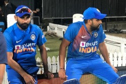 Ind Vs Nz Rohit Sharma Says Mohammad Shami Last Over Won Match For Team Not His Two Sixes
