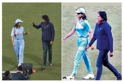 Anushka Sharma In Team India Jersey Is Seen With Jhulan Goswami See Pictures