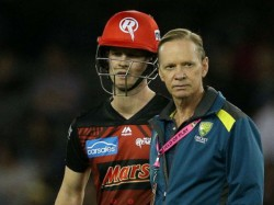 Big Bash League 2020 Watch Nasty Collision Between Sam Harper With Nathan Ellis In Bbl