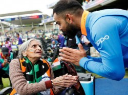 Famous Icc World Cup 2019 Virat Kohli Super Fan Dadi Cricket Charulata Patel Died At The Age Of