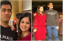 Dhoni Started Running When Singer Called On Stage See What Hppened In The Video