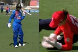 England Women Vs India Women 1st Match Catch Controversy