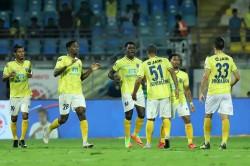 Indian Super League Kerala Blasters Fc Beat Hyderabad Fc By 5