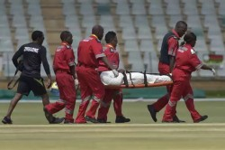 Zimbabwe Opener Kevin Kasuta Injured In 2nd Test Ruled Out Of Sri Lanks Test Match