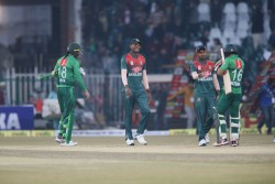 Pakistan Vs Bangladesh 1st T20i Shoaib Malik Comeback 12 Months Powers Pakistan To 5 Wicket Win