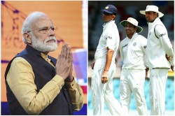 Pm Modi Remembered Kolkata Test Gave Example Of These 3 Cricketers