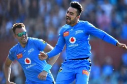 Rashid Khan Created A Hat Trick In Bbl During Adelaide Strikers Vs Sydney Sixers Match