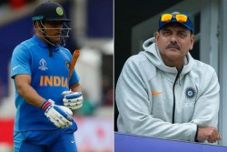 Indian Coach Ravi Shastri On Ms Dhoni Retirement Hints Dhoni Can Soon Retire From Odis