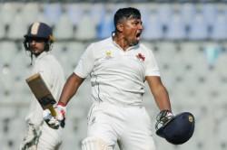 Ranji Trophy Mumbai Vs Himachal Pradesh Sarfaraj Khan Slams Another 200 To Save Mumbai From Downfall