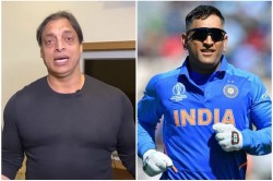 Shoaib Akhtar Told Who Took The Place Of Ms Dhoni Rishabh Pant Out
