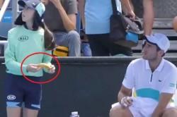 When Tennis Player Elliot Benchetrit Asks Ball Girl To Peel Banana For Him
