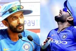 India Vs Australia Batting Coach Vikram Rathore Gets Offended Over Questions On Rishabh Pant