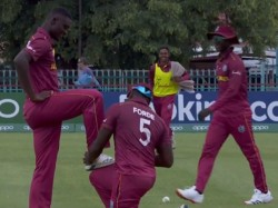 Icc U19 World Cup 2020 Viral Video West Indies Players Come Up With New Shoe Cleaning Celebration