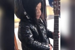 Ms Dhoni Shared Video Of Ziva Playing Guitar And Singing