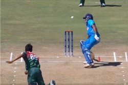 U19 Cwc Divyansh Saxena And Tanzim Hasan Sakib Involved Heated Argument After Former Hit By Later