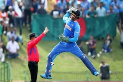 U19 Cwc Final Dhruv Jurel Fast Stumping Is Comparing With Ms Dhoni In Twitter Video