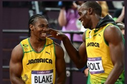 Road Safety World Series London Olympic Medalist Yohan Blake Is Included In West Indies Legends