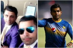 Umar Akmal Did Blunder In Caption Of A Tweet Picture With Abdul Razzaq Get Trolled Brutally