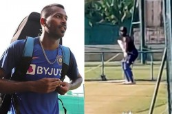 Hardik Pandya Is Practicing To Regain Full Fitness At Nca Watch