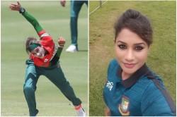 Icc Women T20 World Cup Bangladeshi Player Jahanara Alam Eye Lines Creates Sensation