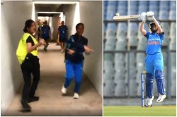 Icc Womens T20 World Cup Jemimah Rodriques Dance With Security Guard Watch
