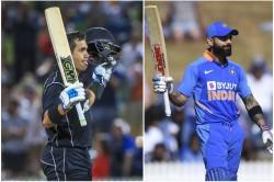nd Odi Ross Taylor Surpasses Virat Kohli In Most Runs In India And New Zealand Odi
