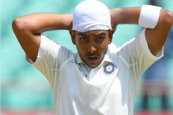 Ind Vs Nz Ravi Shasti Says Pritvi Shaw Is Fit Ahead For 2nd Test In Christchurch