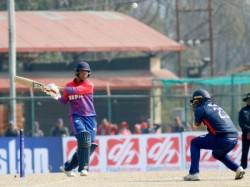 Icc Men World Cup Qualifier 2 Nepal Vs Usa Kusal Mallah Breaks Sachin Tendulkar Record Of