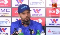 Watch Video Of Bangladesh Skipper Mahsrafe Mortaza Loses His Cool Over Question From Reporter