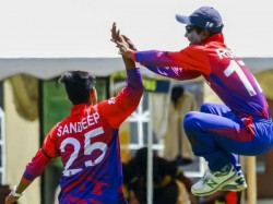 Usa Vs Nep Icc World Cup Qualifier 2 Sandeep Lamichhane 6 Wicket Haul Bowled Out Usa On 35 Record