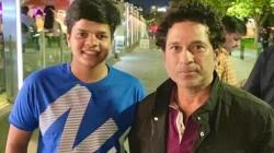 Sachin Tendullkar Meets Indian Young Women Cricketer Shafali Verma Praises Words Of Appreciation