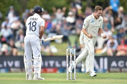 India Vs New Zealand 2nd Test Tim Southee Most Often Bowled Out To Kohli