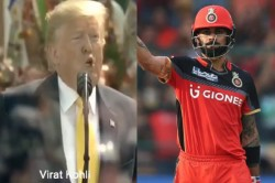 Who Is The Trump Card Of Rcb Franchise Made Fun Of Donald Trump S Speech